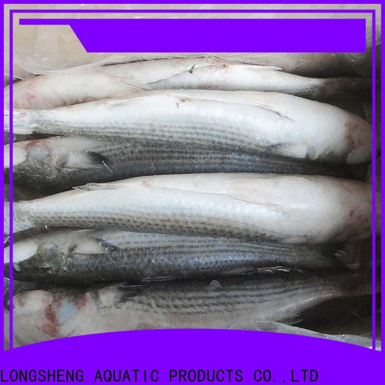LongSheng gutted frozen grey mullet fish manufacturers for restaurant
