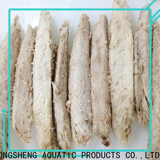LongSheng loinsbonito frozen tuna loin company for dinner party