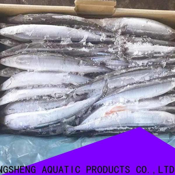 LongSheng saurycololabis pacific saury sale Supply for hotel