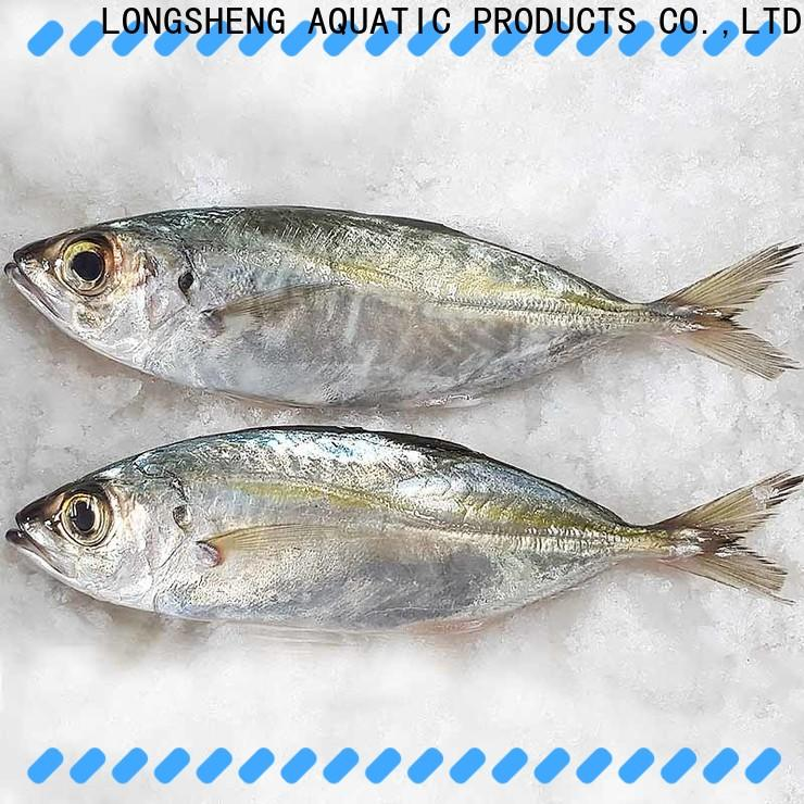 LongSheng Top frozen whole round horse mackerel Suppliers for cafe