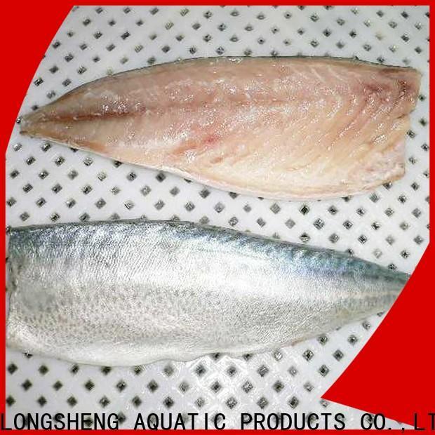 LongSheng flaps fresh frozen fish for restaurant