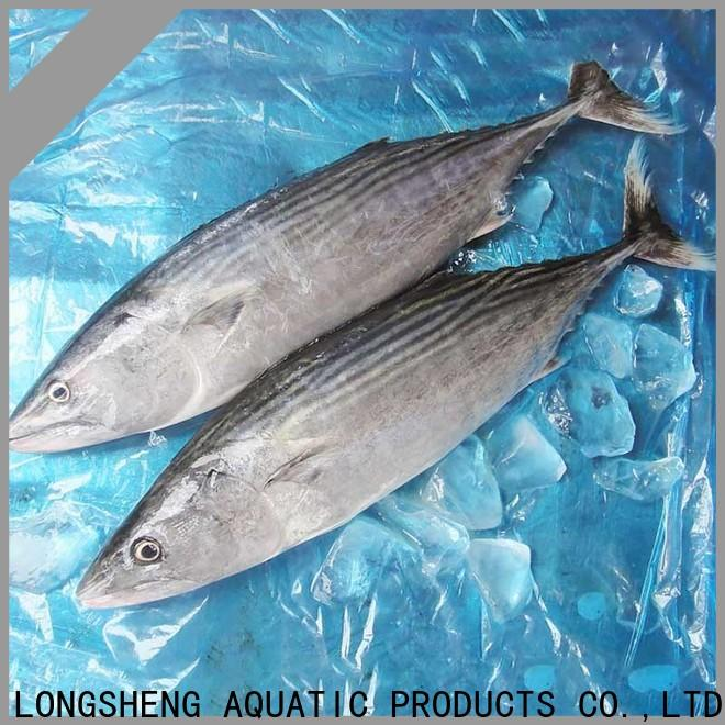LongSheng clean frozen bonito tuna for business for family