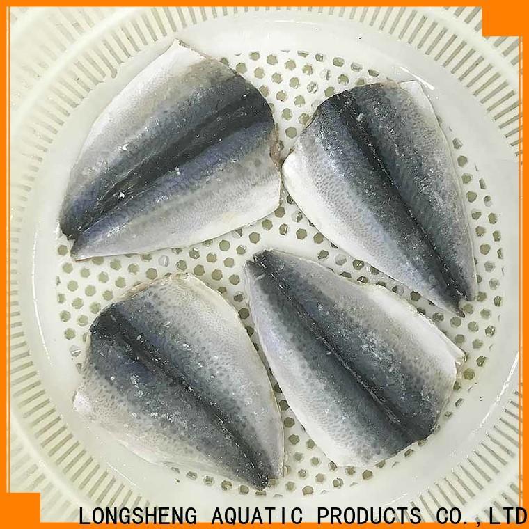 Latest frozen whole mackerel fillet factory for market