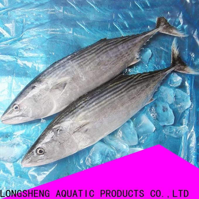 LongSheng clean frozen tuna fish price Supply for family