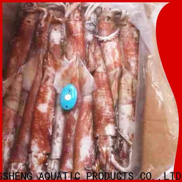 LongSheng flowersquid frozen squid for business for cafe