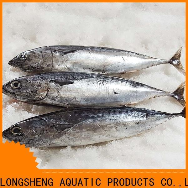 LongSheng high quality frozen skipjack fish for supermarket