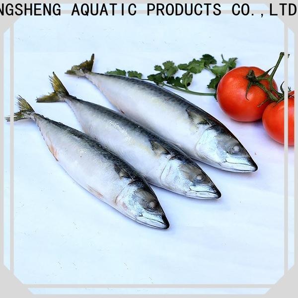 LongSheng fish frozen mackerel fillets suppliers company for supermarket