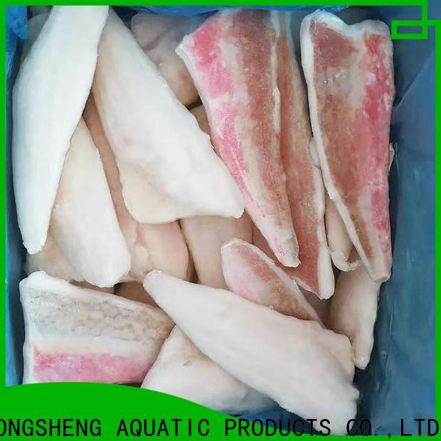 LongSheng lepidotrigla Frozen red gurnard fillet Supply for dinner party