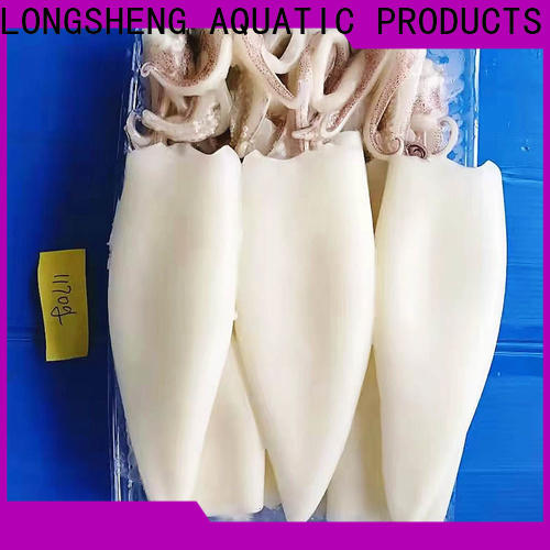 LongSheng healthy frozen squid whole manufacturers for hotel