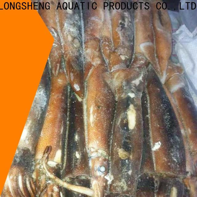 LongSheng squid frozen baby squid manufacturers for cafeteria