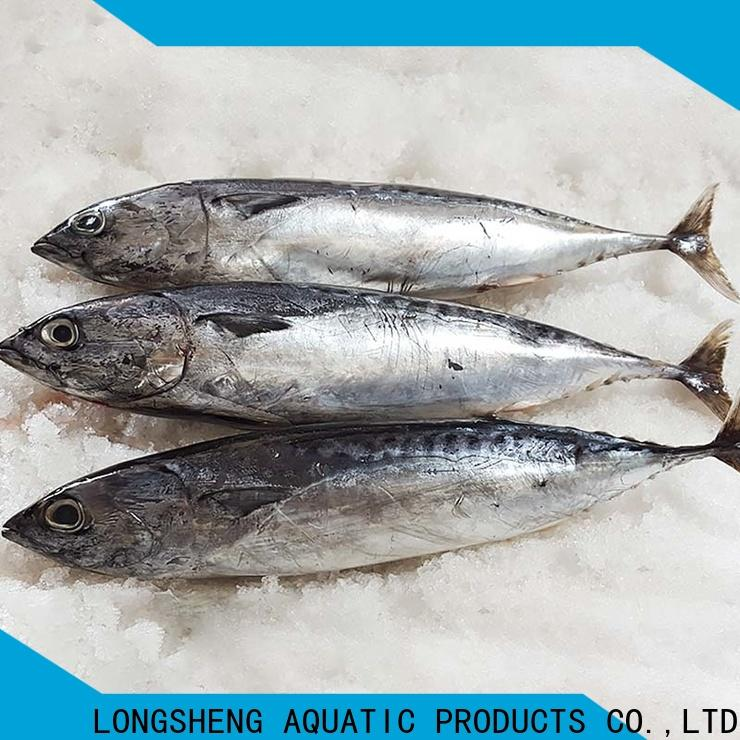LongSheng wholesale bonito fish price for business for seafood shop