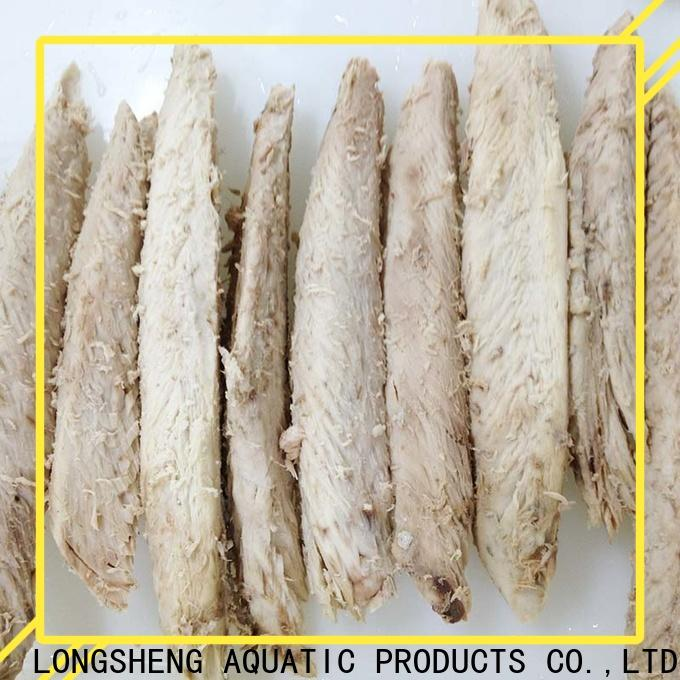 LongSheng precooked frozen bonito loin Suppliers for home party