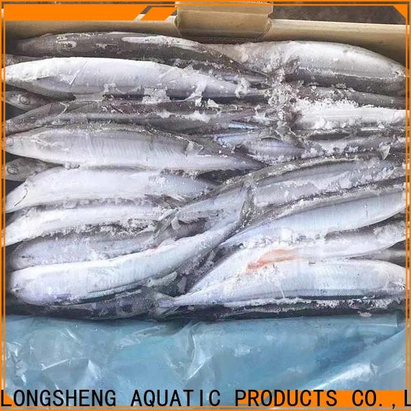 LongSheng Frozen Pacific Saury Suppliers Supply for cafe