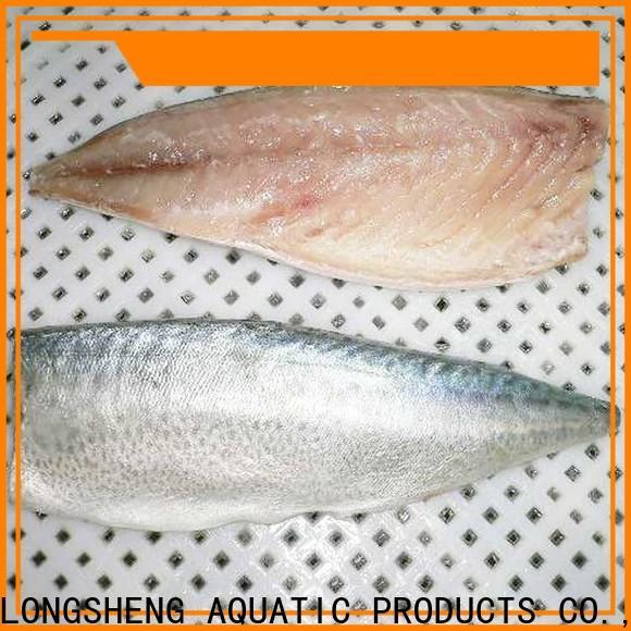LongSheng fillet frozen mackerel prices company