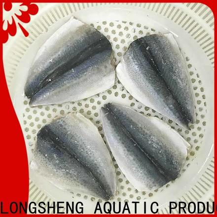 LongSheng Wholesale frozen mackerel flaps for restaurant