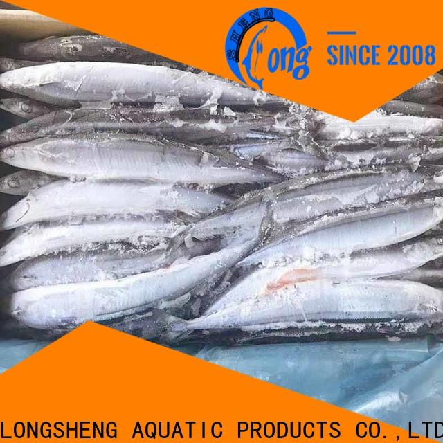 LongSheng bulk purchase frozen saury Supply for cafe