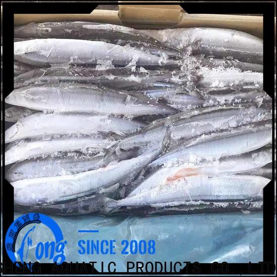 LongSheng saira Frozen Pacific Saury Suppliers Suppliers for cafe