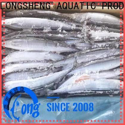 LongSheng New Frozen Pacific Saury Suppliers Suppliers for cafe