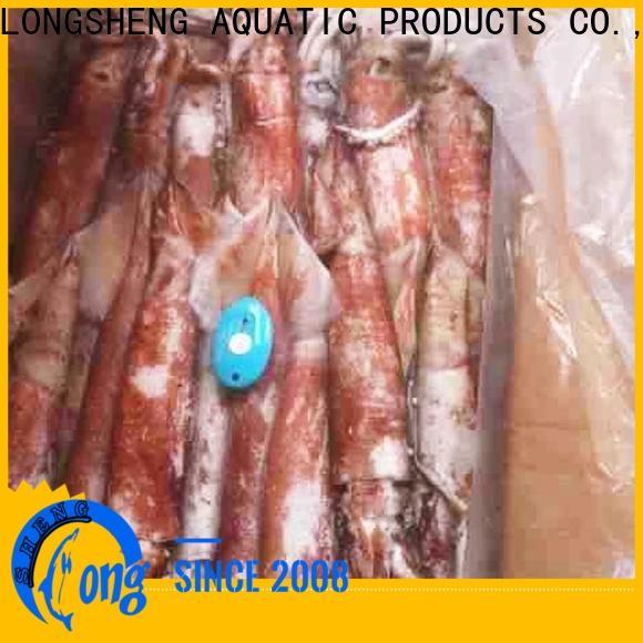 LongSheng bulk buy frozen squid loligo suppliers manufacturers for cafe