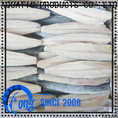 Top frozen spanish mackerel fillets frozen factory for market