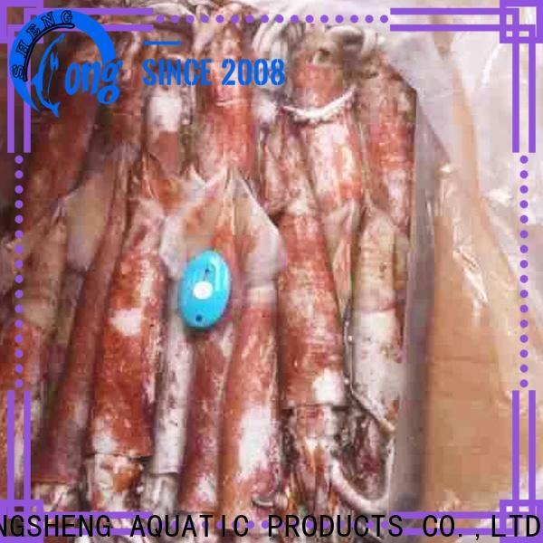 LongSheng argintinus frozen squid sale manufacturers for cafeteria