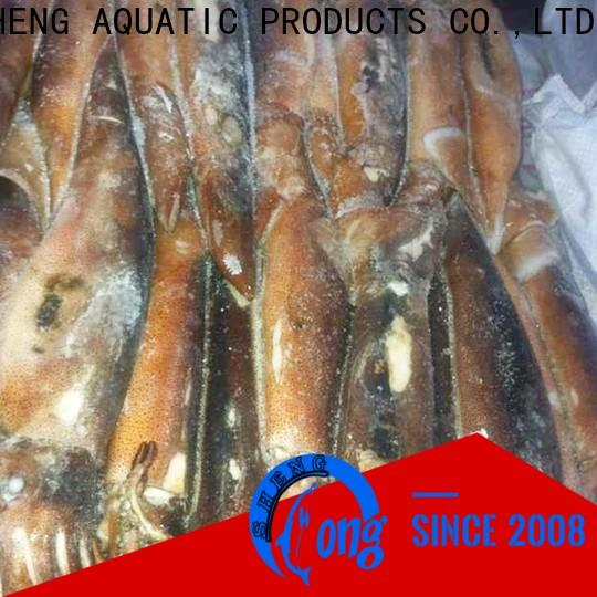 LongSheng chinese frozen whole uncleaned squid for sale Supply for restaurant