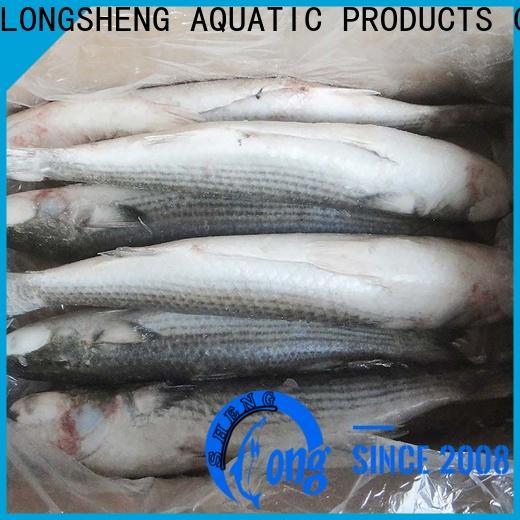 LongSheng New frozen grey mullet fish manufacturers for supermarket