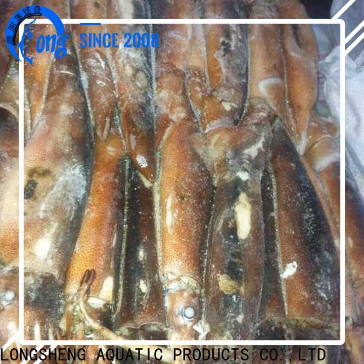 clean frozen baby squid for sale flowersquid Suppliers for cafeteria