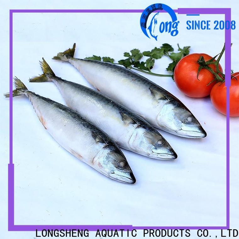 LongSheng mackerel fillet frozen fish Suppliers for market