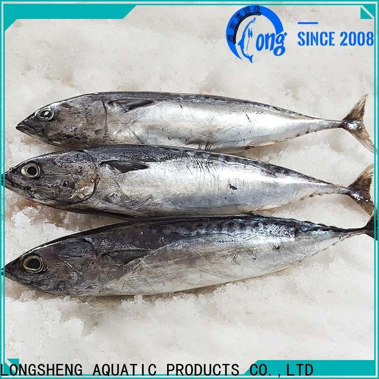 LongSheng Wholesale frozen seafood bonito fish Suppliers for seafood shop