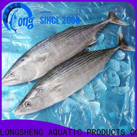 LongSheng frozen frozen skipjack tuna for family