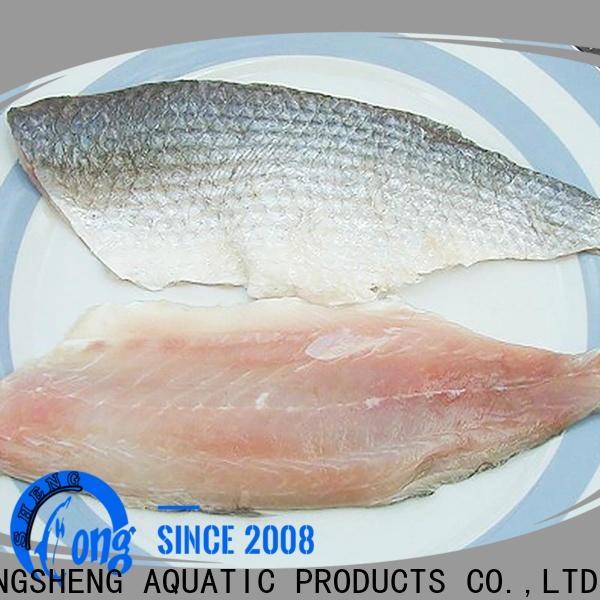 LongSheng fillet frozen mullet manufacturers for supermarket