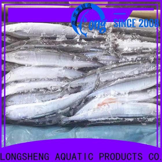 LongSheng saira frozen seafood wholesale Supply for cafe