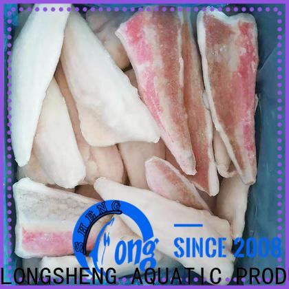 LongSheng fillet Frozen red gurnard fillet factory for wedding party