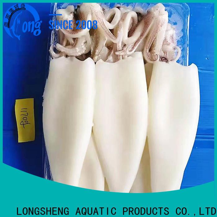 LongSheng loligo squid supplier for cafeteria
