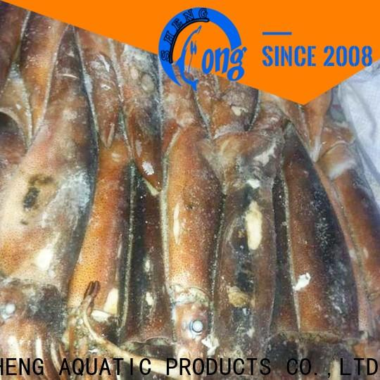 LongSheng chinese frozen squid price factory for hotel