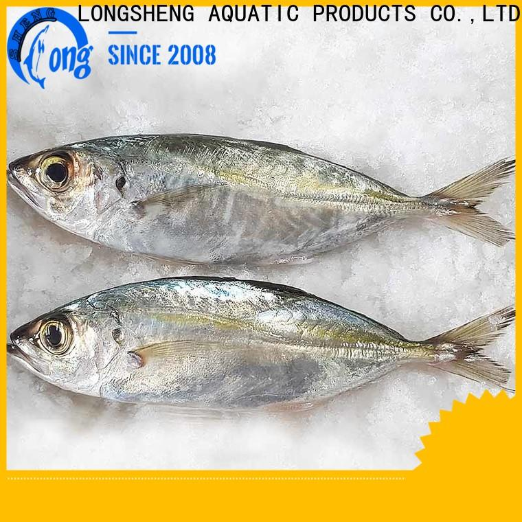 LongSheng frozen whole round horse mackerel horse Supply for hotel