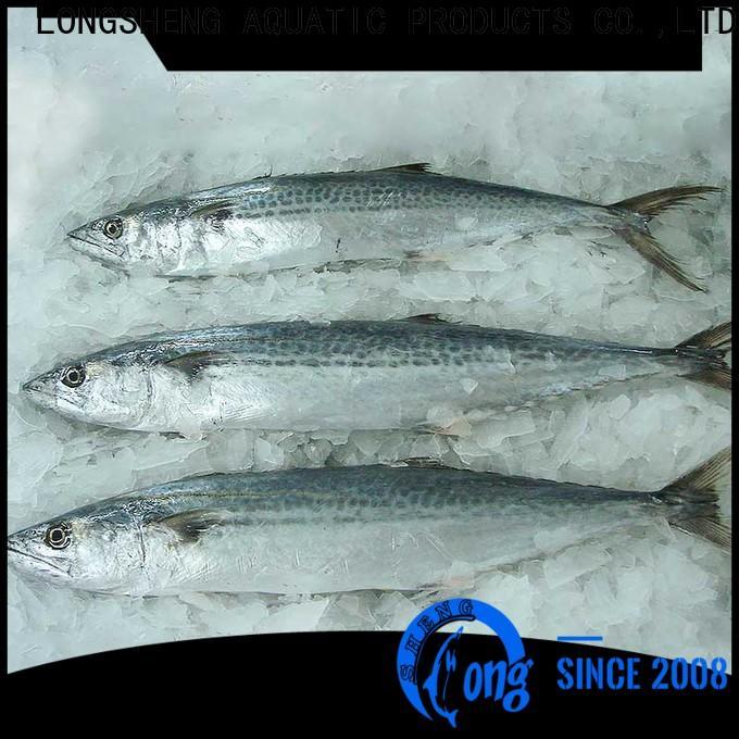LongSheng mackerel quality frozen fish manufacturers for supermarket