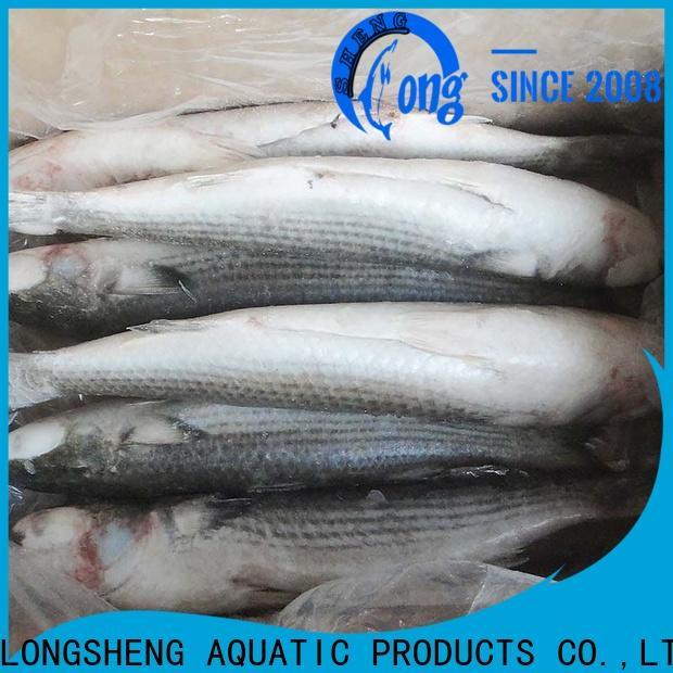 LongSheng bulk purchase grey mullet gutted for market
