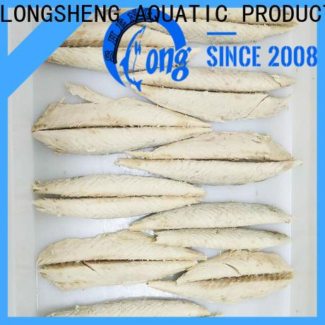 LongSheng fish frozen fish loins factory for dinner party