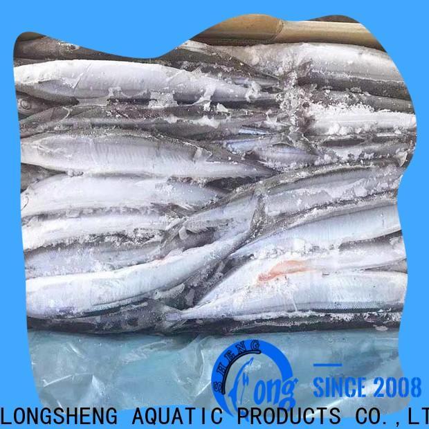 LongSheng wholesale pacific saury sale factory for restaurant