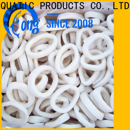 healthy frozen squid tubes rings factory for hotel