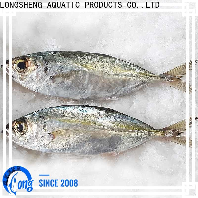 LongSheng High-quality Frozen Horse mackerel whole round for business for hotel