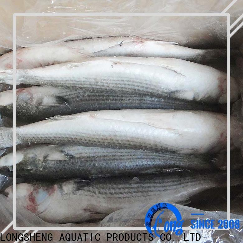 LongSheng fillet frozen seafood exporter company for hotel