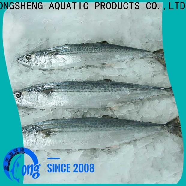 LongSheng frozen frozen spanish mackerel fillets factory for supermarket