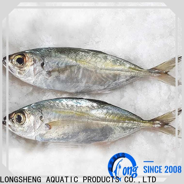 LongSheng frozen whole round horse mackere round manufacturers for cafeteria