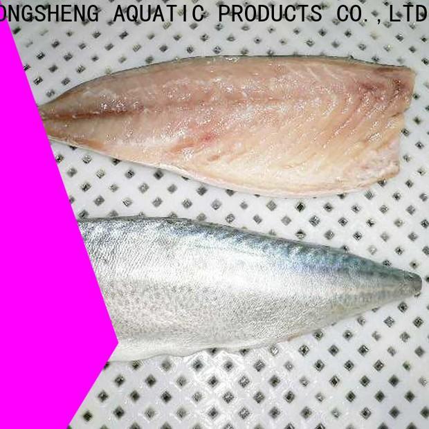 LongSheng good quality frozen mackerel fillets suppliers for hotel