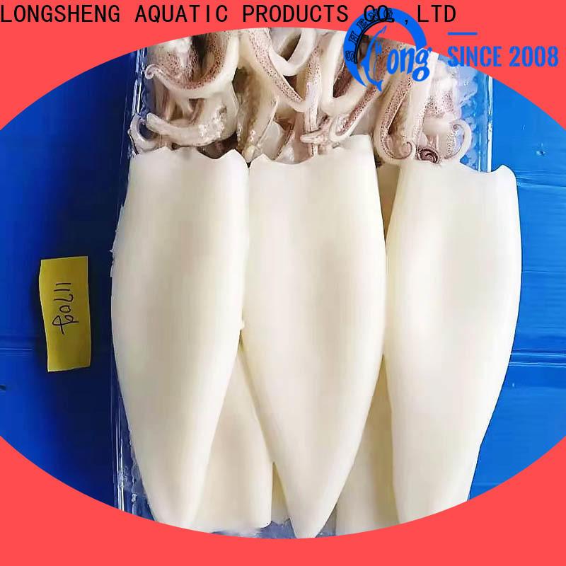 LongSheng flowersquid frozen fish manufacturers company for restaurant