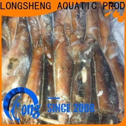 LongSheng High-quality frozen squid tubes Supply for cafeteria