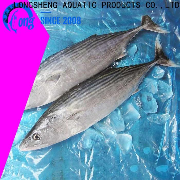 LongSheng fish frozen bonito tuna price for lunch